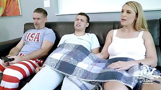 Stepmom Showing Stepson How Anent Handle A Bigass