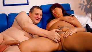 XXX OMAS, German Bush-league Wed Has Hard Sex On touching Husband