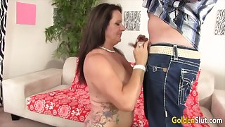 Gold Slut - Perfect Grannies Around Professional Blowjobs Compilation