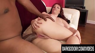 Redheaded Wife Kylie Ireland Takes a Monster BBC Anally In the long run b for a long time Hubby Is Away