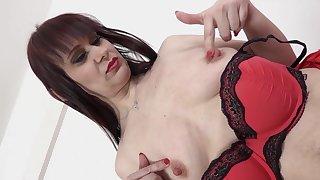 Hardcore interracial anal sex with hurtful mature Vera Delight