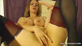 Big Tit Indulge Built for Coition Squirting on Cam