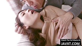 Arousing Japanese Mother I´d Groove on To Fuck With an increment of Stepson