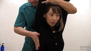 Japanese brunette is about to win a pussy massage from a guy she secretly likes a lot