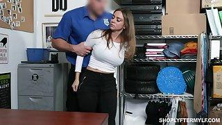 Stunning milf Havana Bleu gets punished for shoplifting